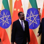 Ethiopia's PM Ahmed and China's President Xi in Beijing