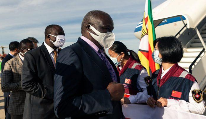 China's 'mask diplomacy'
